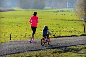 Jogging familial au profit de l'asbl Dyskinesia