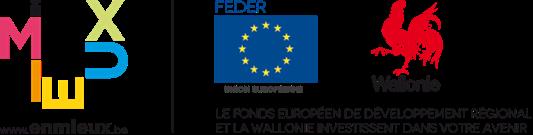 Feder et la Wallonie investissent dans votre avenir.