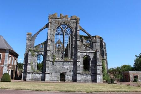 L'Abbaye d'Aulne, 225 ans après son saccage… Inédit !