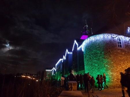 Thuin by night : balade nocturne, feu d'artifice