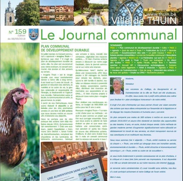 Journal communal septembre 2019