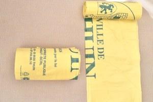 Où trouver les sacs poubelles jaunes de la Ville de Thuin?