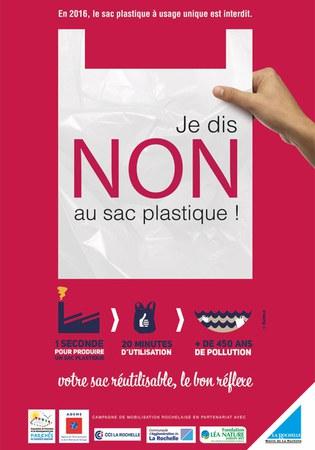 Stop aux sacs plastiques à usage unique